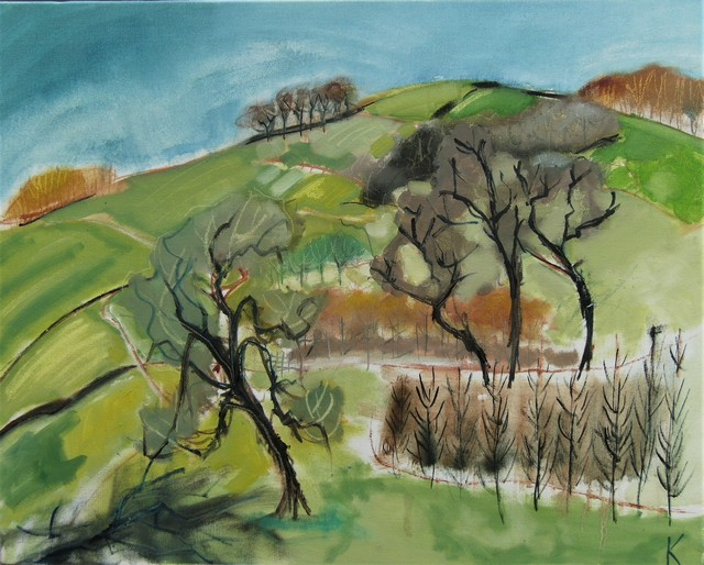 The Yorkshire Wolds in Winter