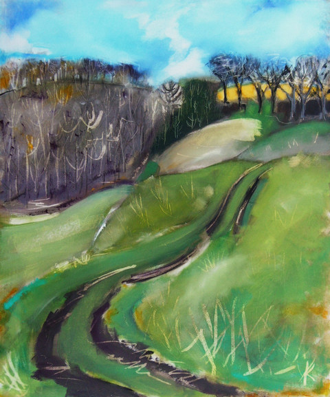 A Wolds Track.