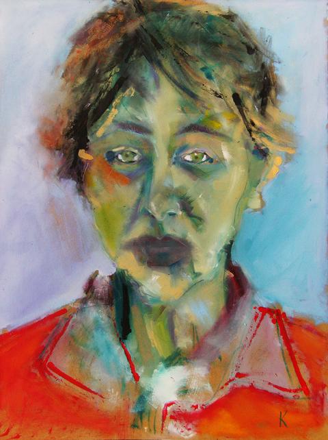 A Portrait of Lesley Birch.