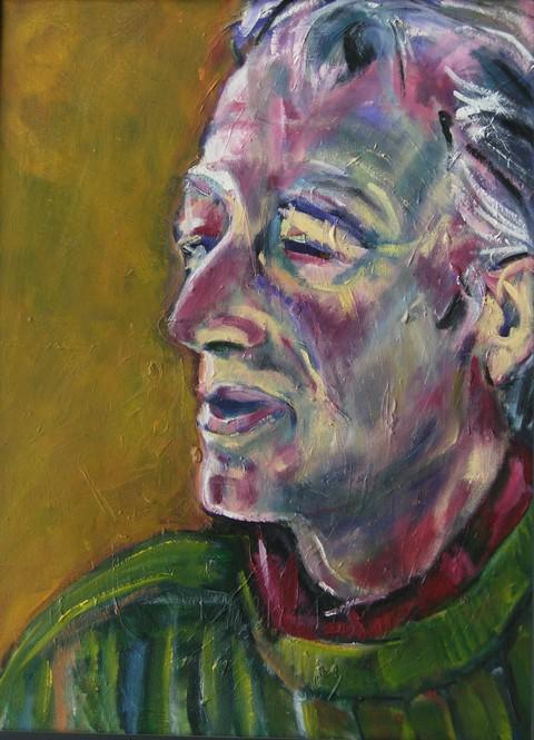 Portrait of Derek.