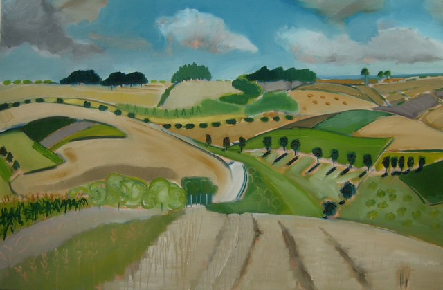 Fields near Warter.