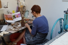 Penny Phillips, friend and fabulous ceramic artist, Pica Studios.